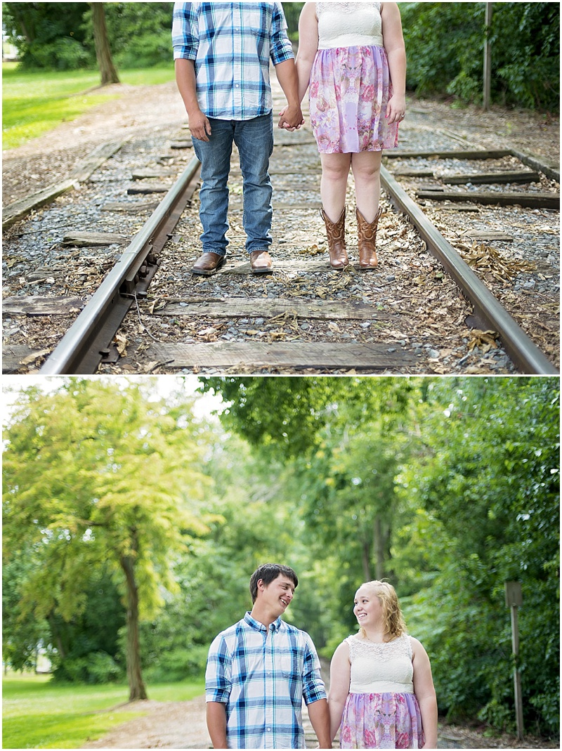 Frederick County Park | Frederick MD Engagement Portraits by Katie Vee Photography