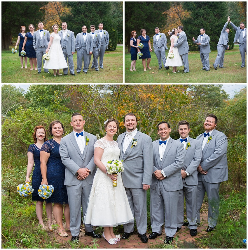 Fall wedding severn MD Baltimore Offbeat Unique Lace Katie Vee Photography