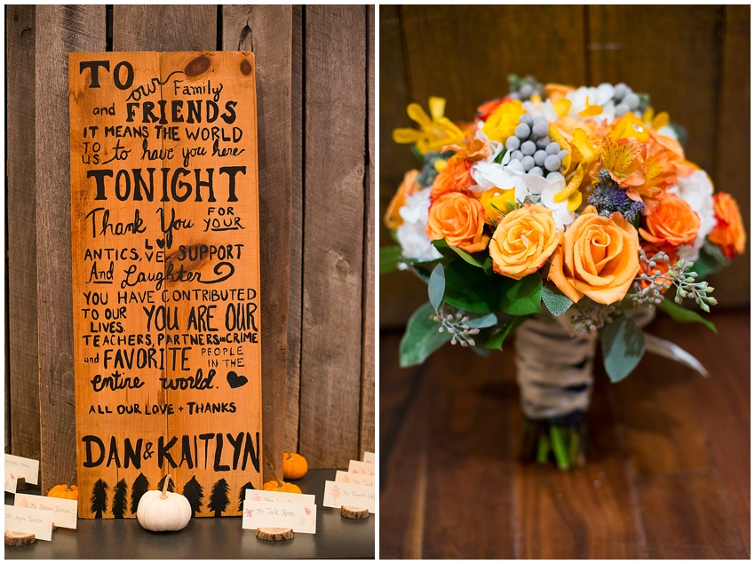 Katie Vee Photography Fall Wedding Thorpewood Thurmont Frederick MD Outdoor Nature