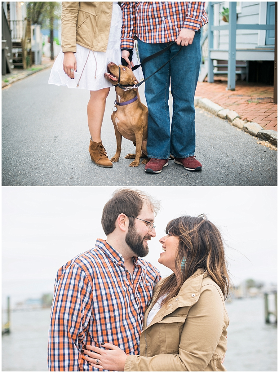 Spring Annapolis MD Engagement Portraits by Katie Vee Photography