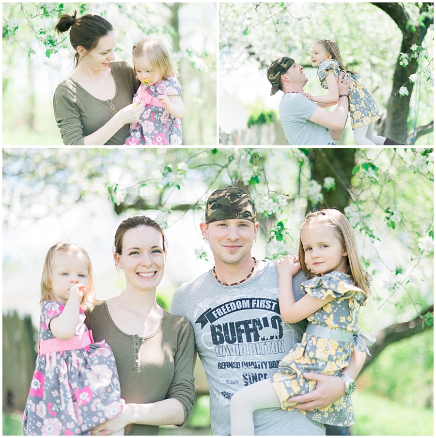 Family Children Portraits by Katie Vee Photography Carroll County Farm