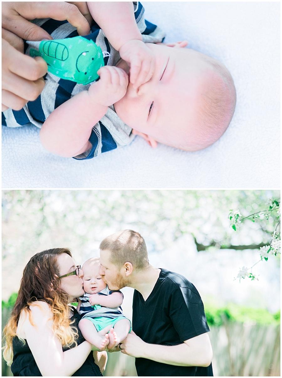 Carroll County Family Farm Portraits Katie Vee Photography