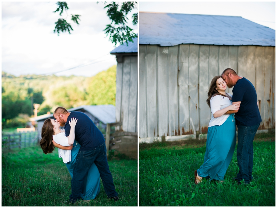 Katie Vee Photography Baltimore County Engagement Portraits Outdoor Farm Romantic
