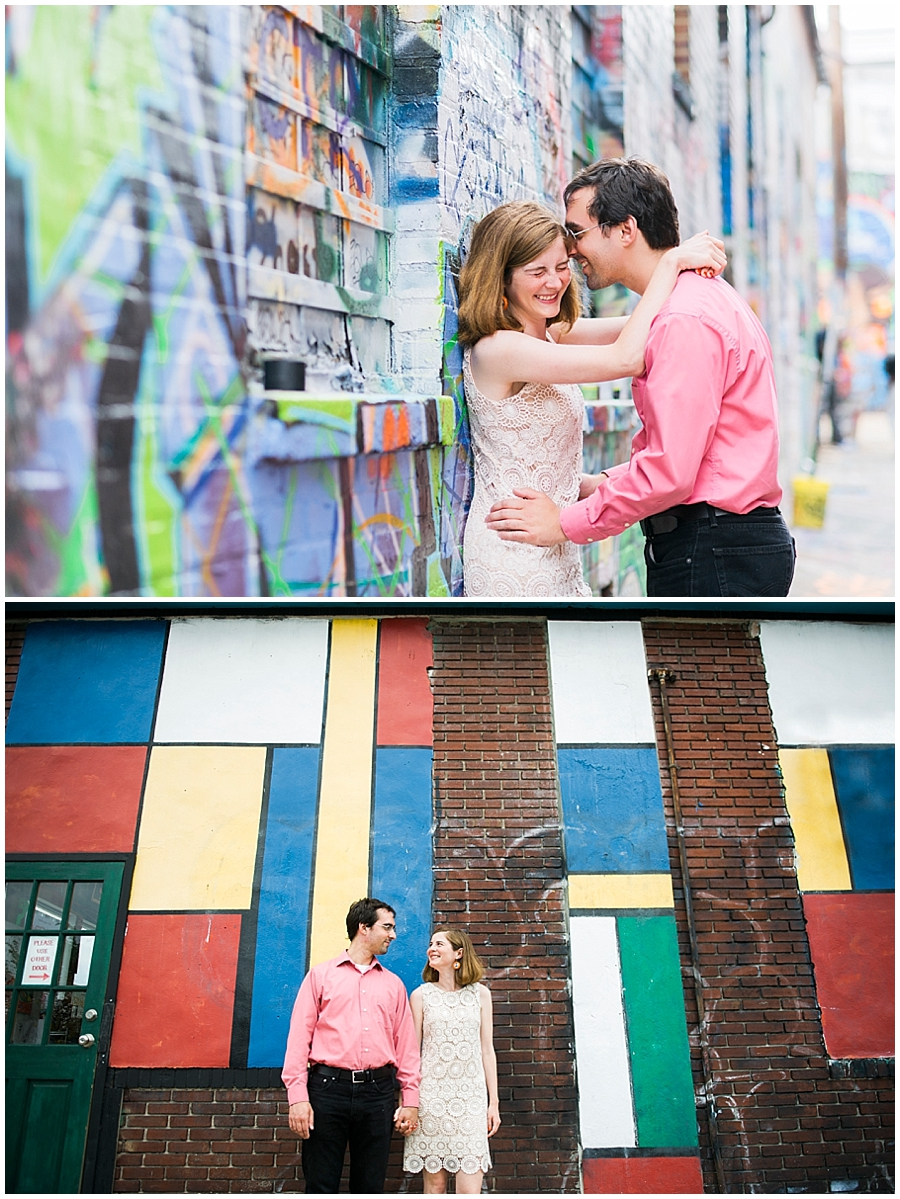 Station North Druid Hill Park Engagement Portraits Katie Vee Photography Baltimore