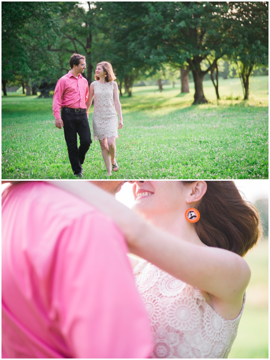 Baltimore City Engagement Portraits Katie Vee Photography Station North Druid Hill Park
