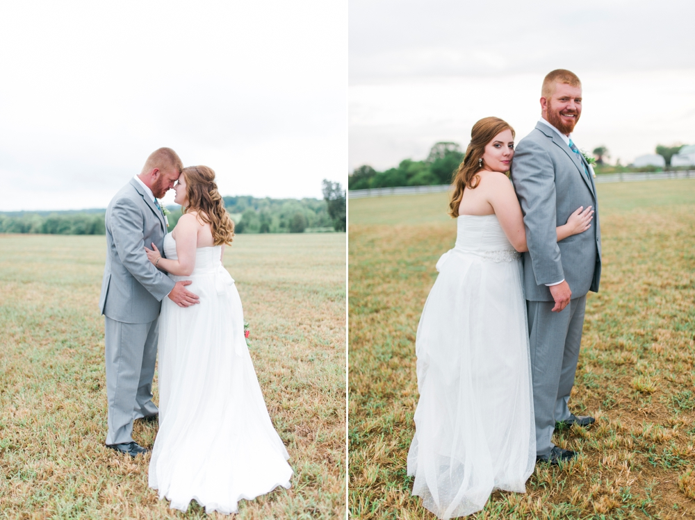 Romantic DIY Country Farm Wedding in Howard County, Maryland by Katie Vee Photography