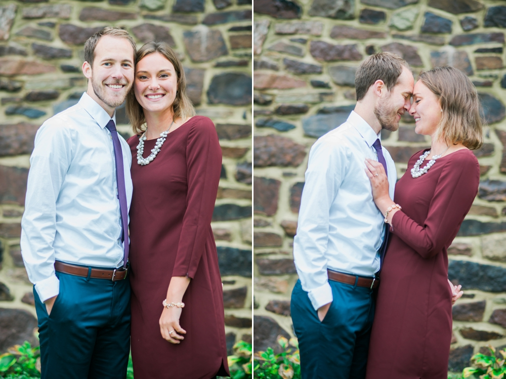 Katie Vee Photography Maryland Engagement Portraits Fall Romantic