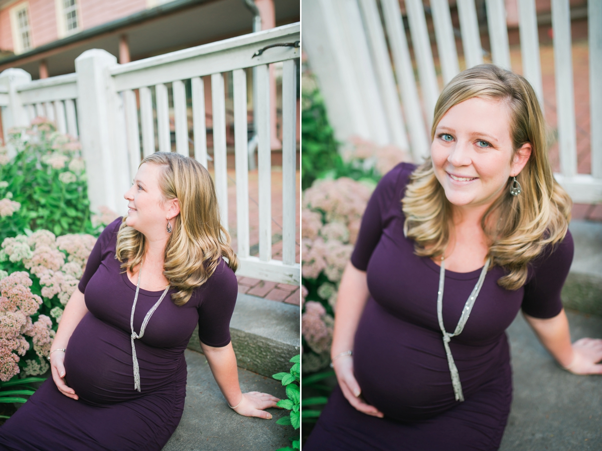 Maternity Portraits in Westminster, MD by Katie Vee Photography | Union Mills Homestead