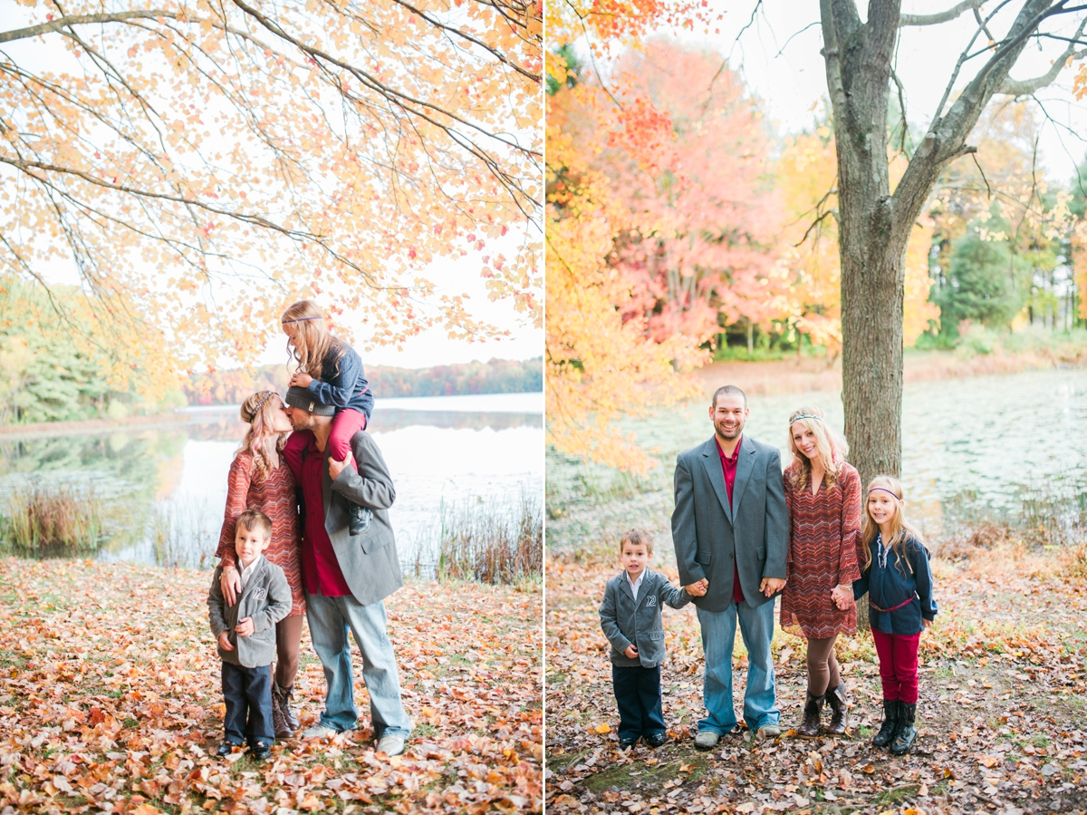 Family Portraits Piney Run Park Sykesville Carroll County Maryland Katie Vee