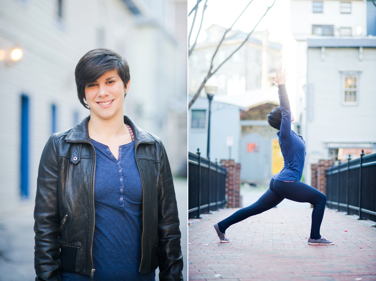 Baltimore Yoga Instructor Ariel Wickham by Katie Vee Photography