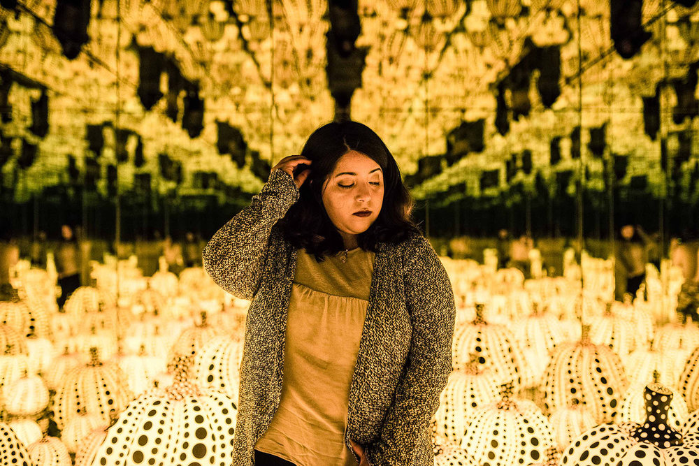 Infinity Mirrors Exhibit Hirshhorn DC Katie Vee Photography A Day In The Lalz