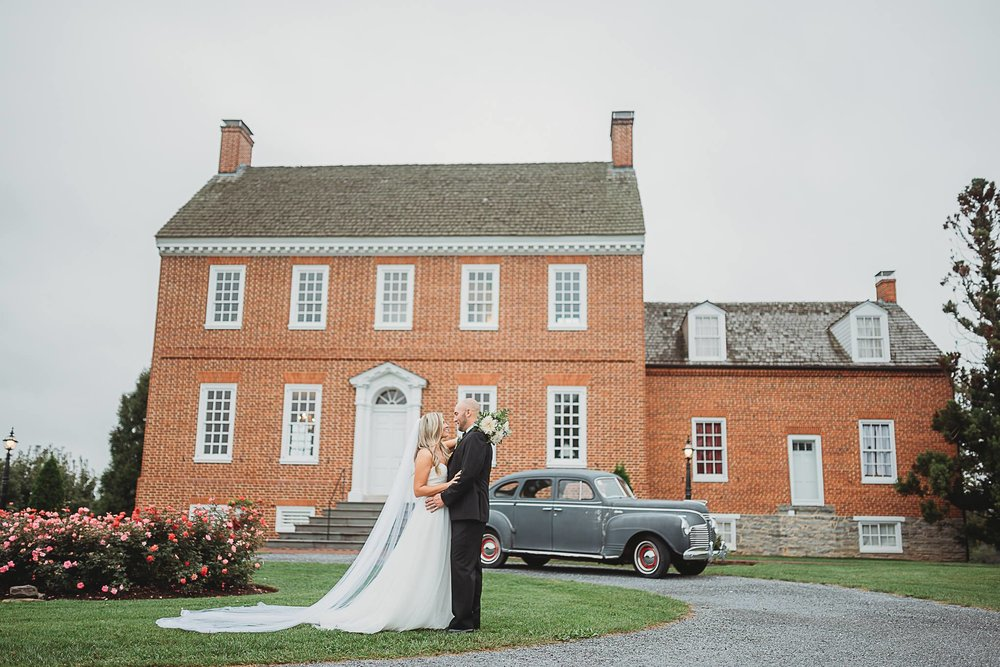Romantic Classic Wedding at Dulany's Overlook in Frederick MD