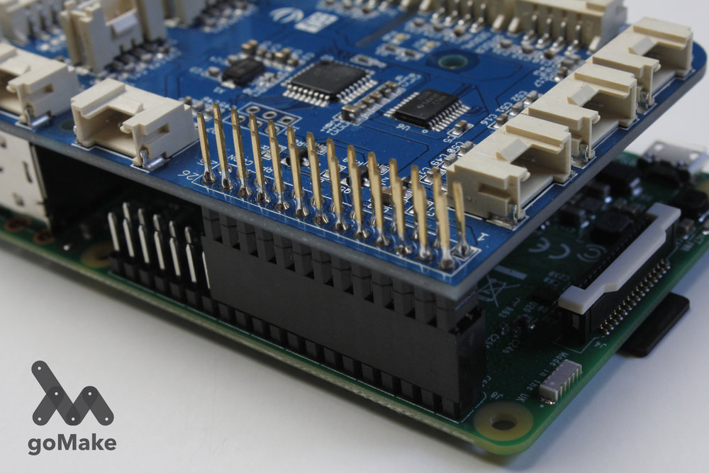 RPi connected to Grove Pi, side view, closeup.jpg