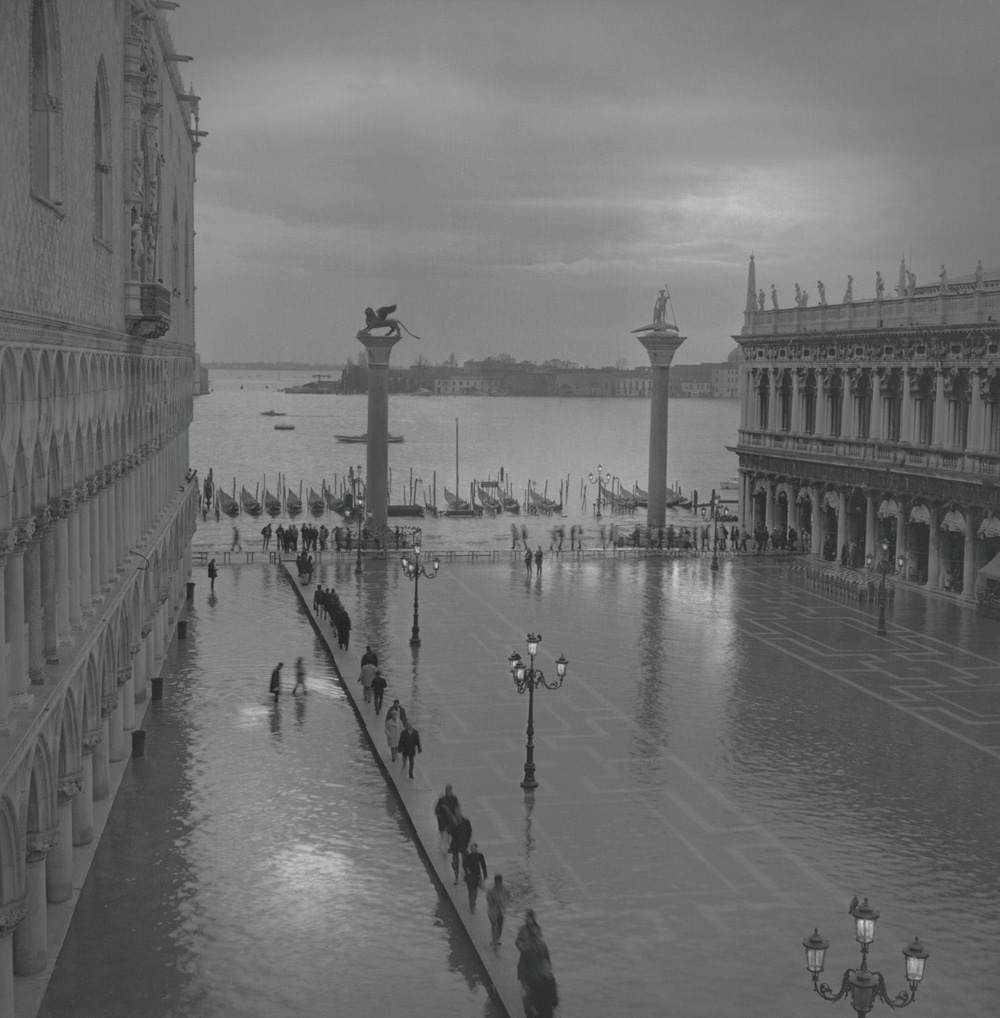 Acqua alta, Piazzetta, 2002