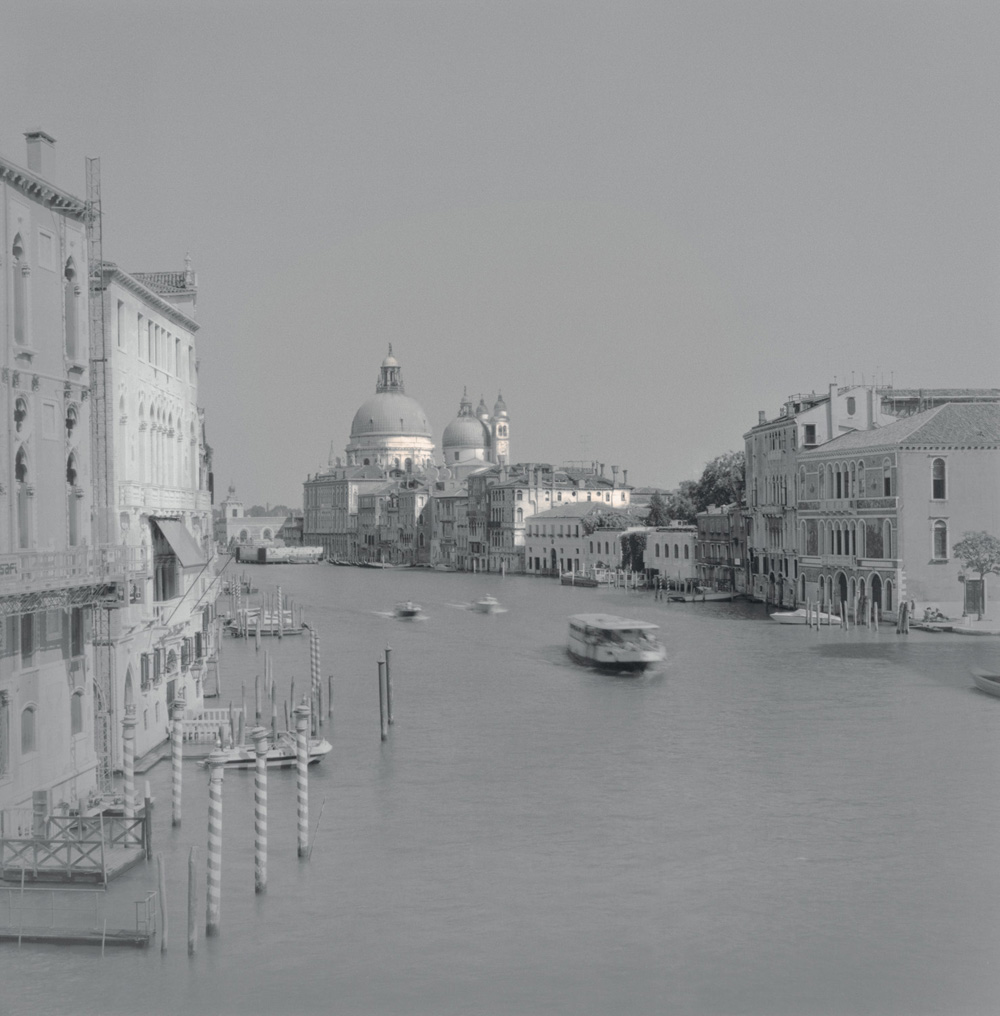 Gondola on the Grand Canal, 2003
