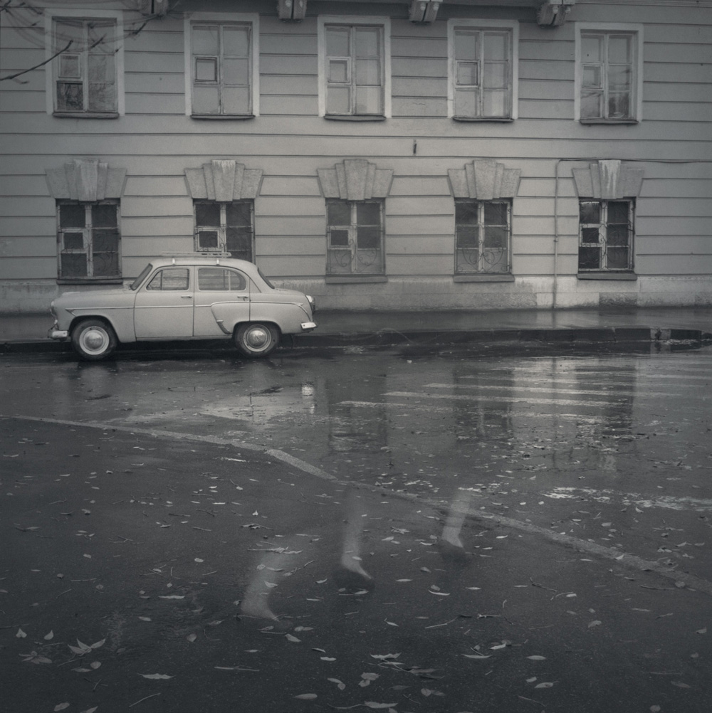 Old-fashioned Moskvitch, 1995