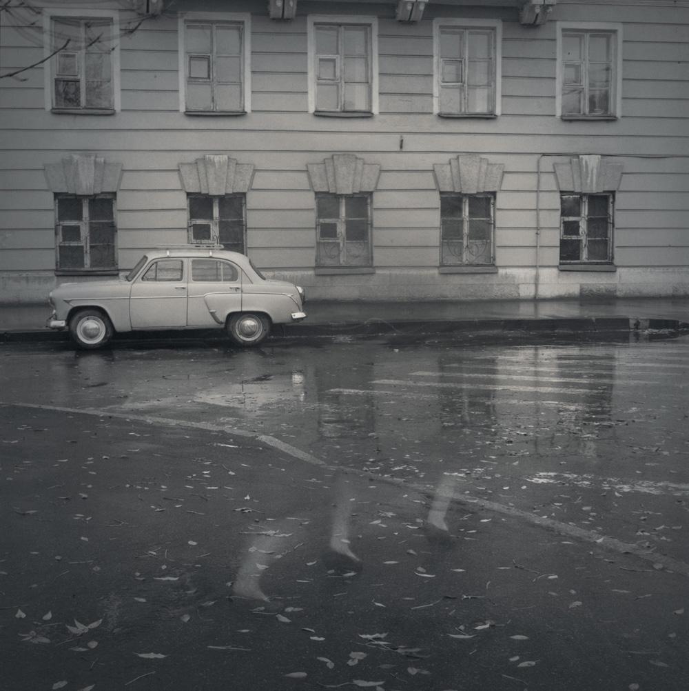 Old-fashioned Moskovitch, 1995
