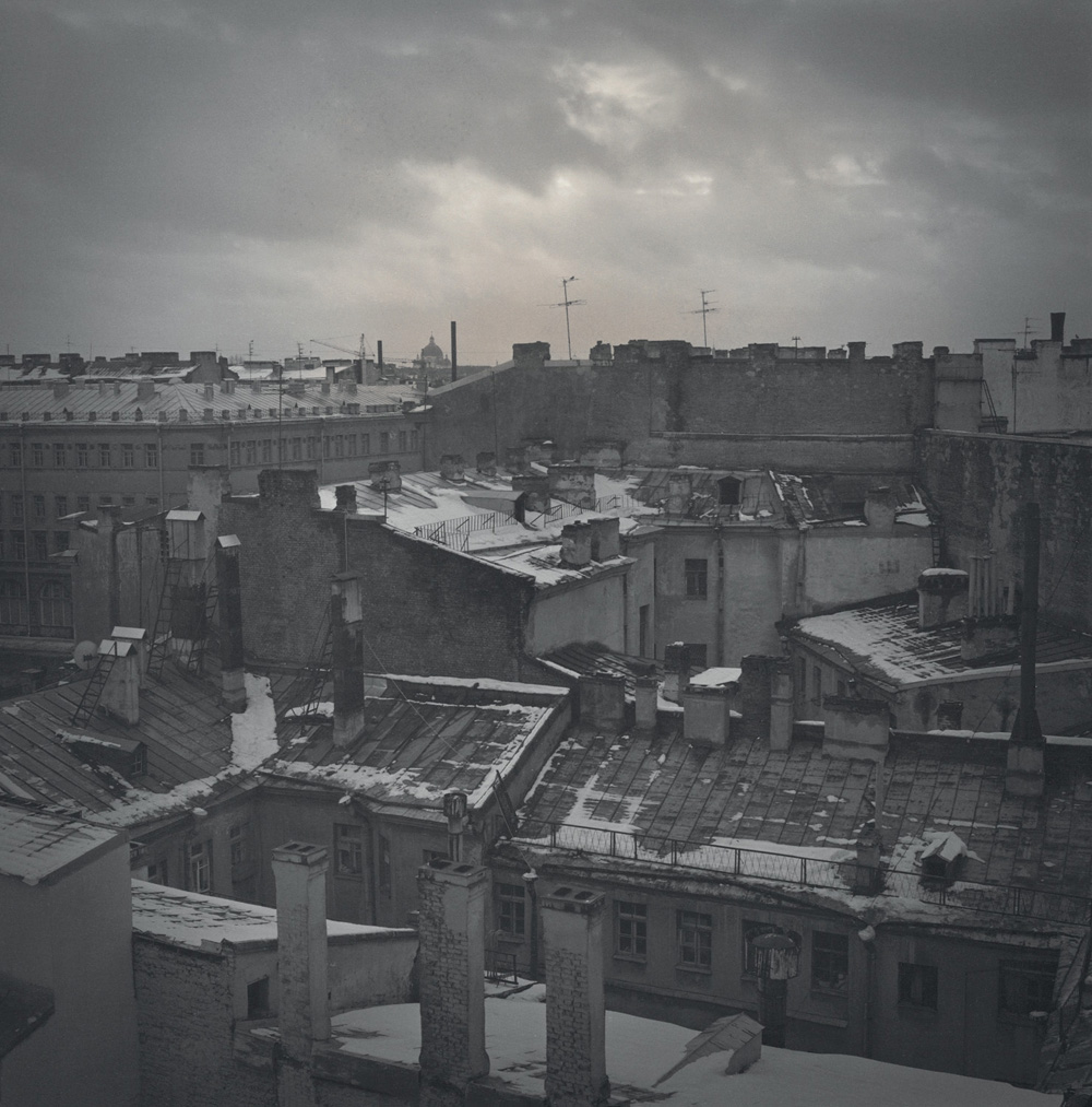 View of the roofs, 1996