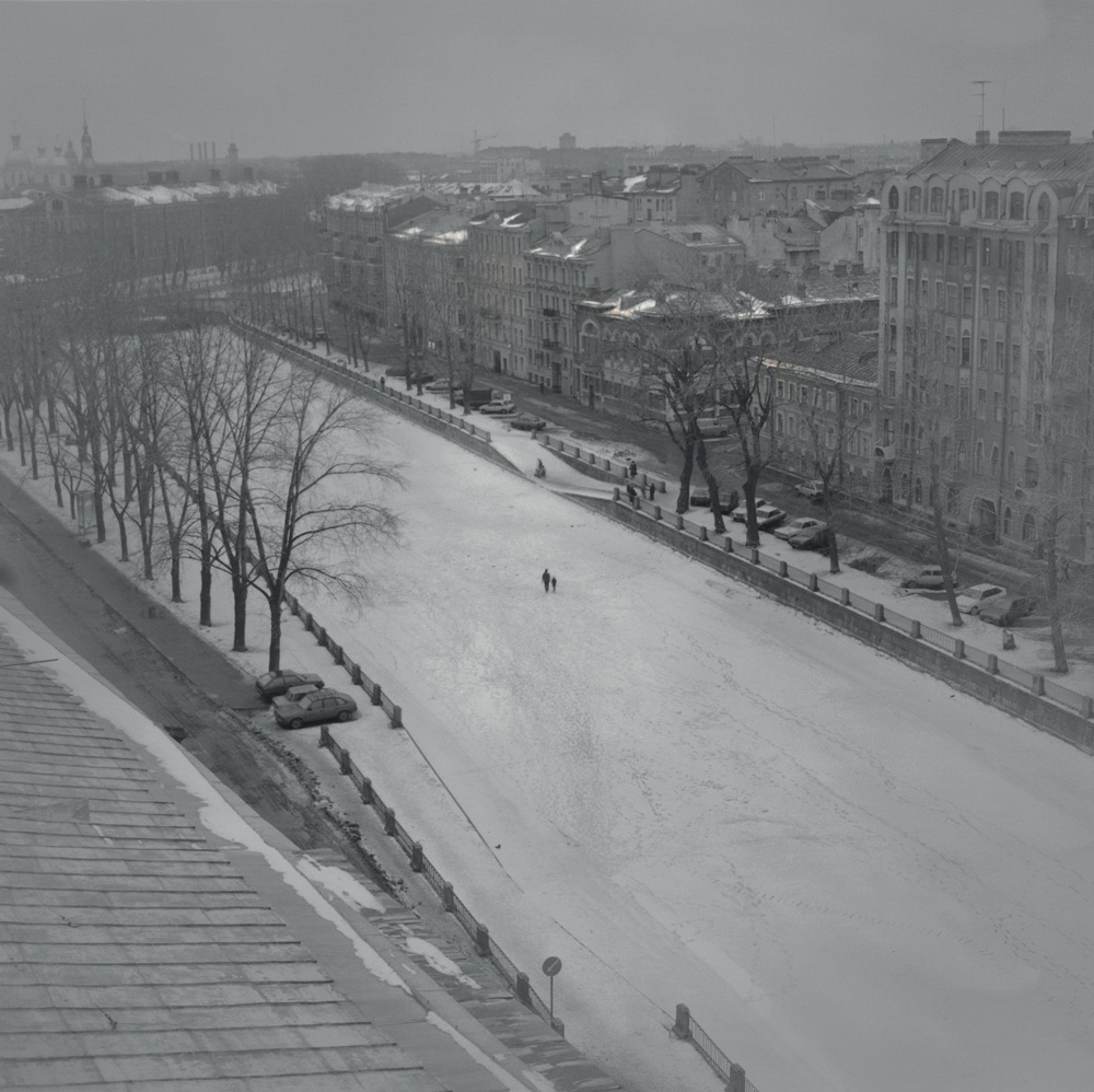 Frozen Griboedov Canal, 1997