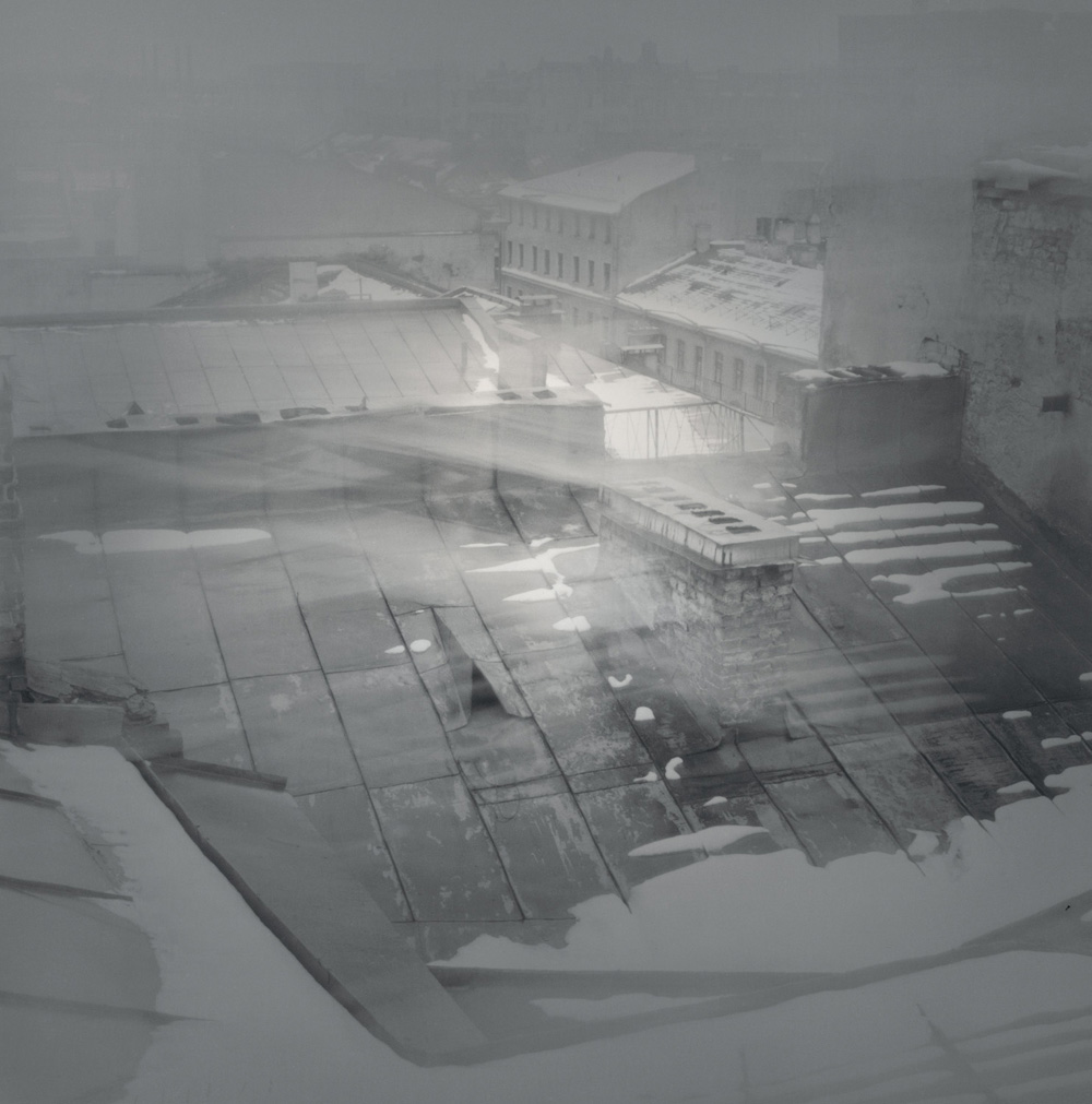Rooftop, Griboedov Canal, 1995