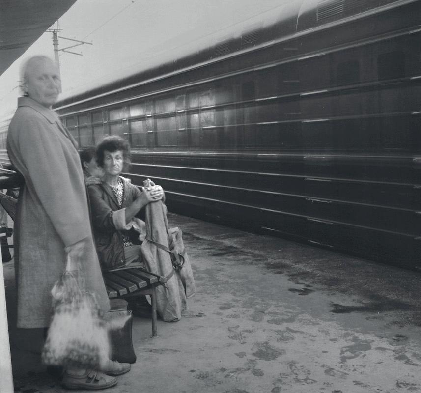 Kuptchino Railway Station, 1993