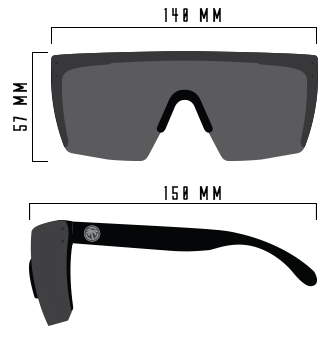 6332c3f8581 Each Lazer Face lens offers complete UVA UVB 400 protection - paired with  its increased wrap around field of vision