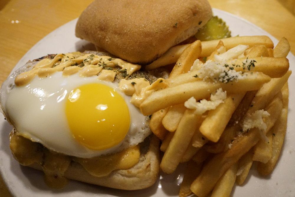 The 440 Line Hangover Burger