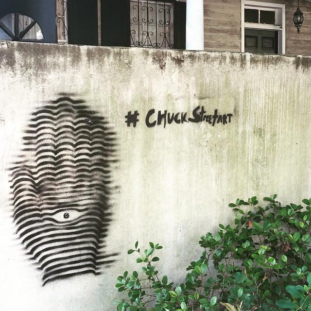 Chuck Street Art.