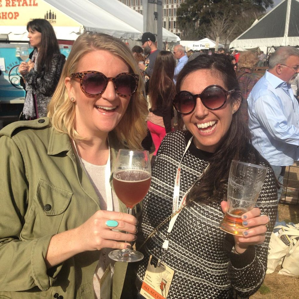 Rocked out a lot of events and projects for @obviouslee clients during Charleston Wine + Food thanks to the teamwork of @ashley_brady. 🙌💃🏻#watchoutworld #obviousleebadass #omwerkperks