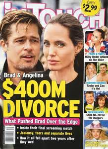 False headline fans fears of bad divorce.