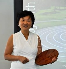 Diana Ng author of  Walking the Labyrinth: Your Path to Peace and Possibilities