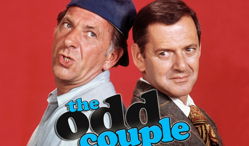 The original The Odd Couple, based on the 1965 play by Neil Simon, ran from 1970 - 1975.