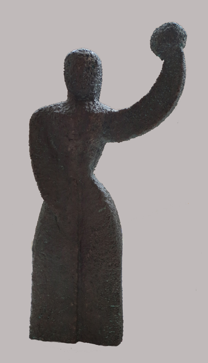 Woman (with a Ball), 1991