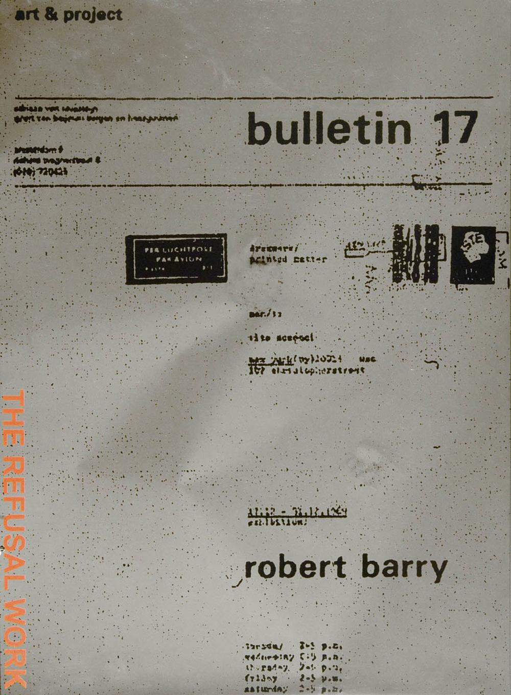 The Refusal Work, 2006