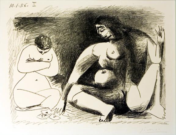 Deux Femme accroupies, 1956