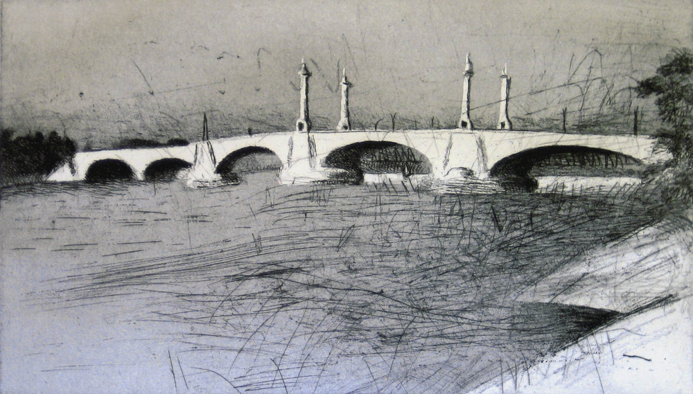 Springfield Memorial Bridge, 1982