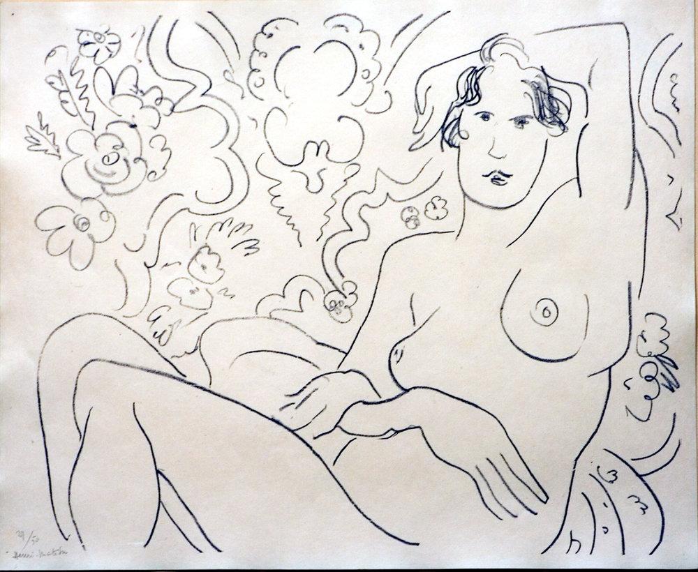 Matisse, Nu assis...