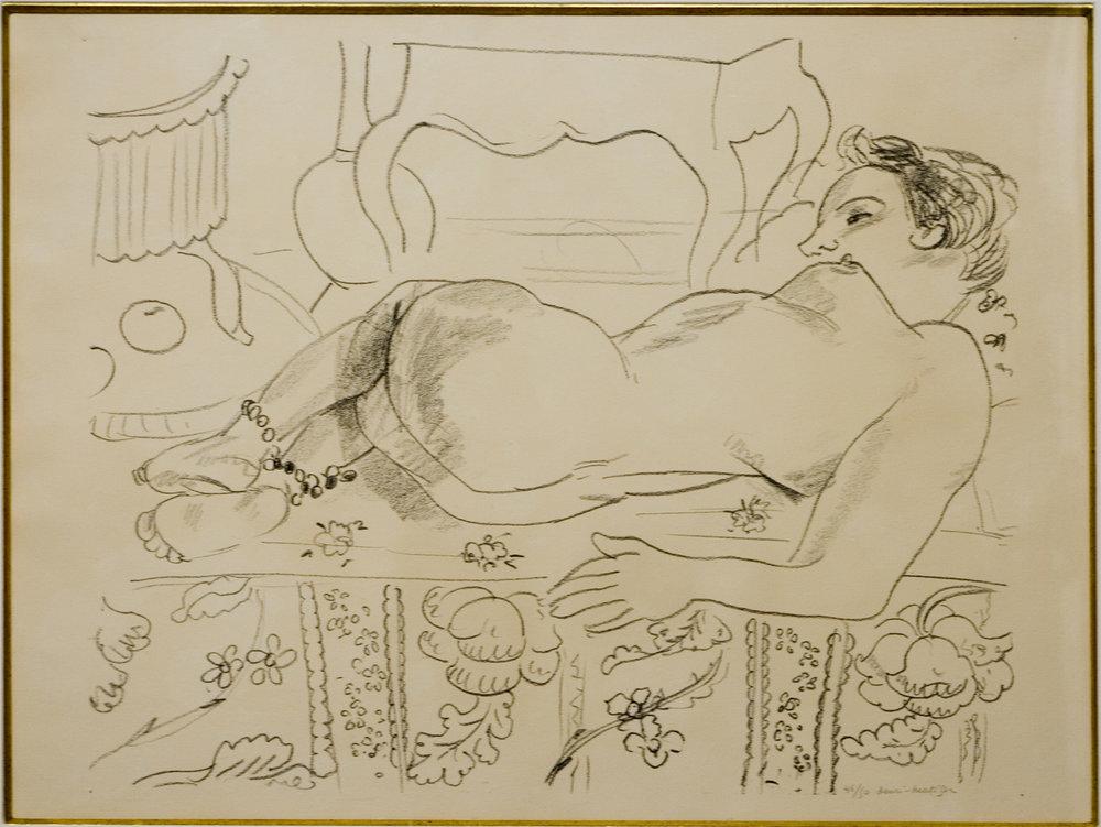 Matisse, Nu couche...