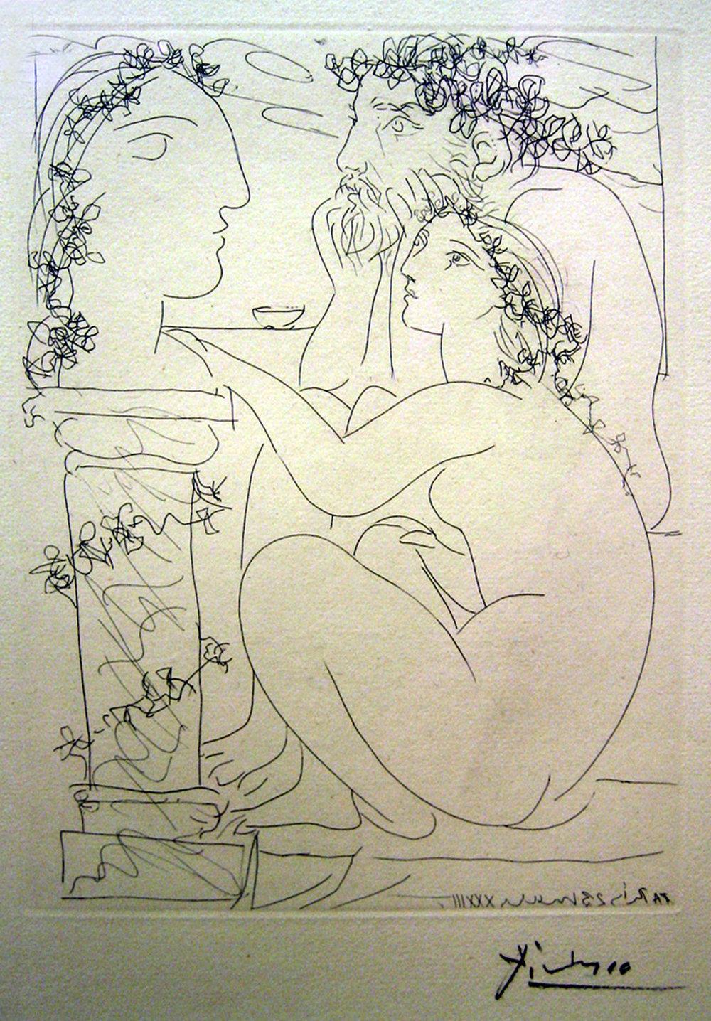 Picasso, Sculpteur...