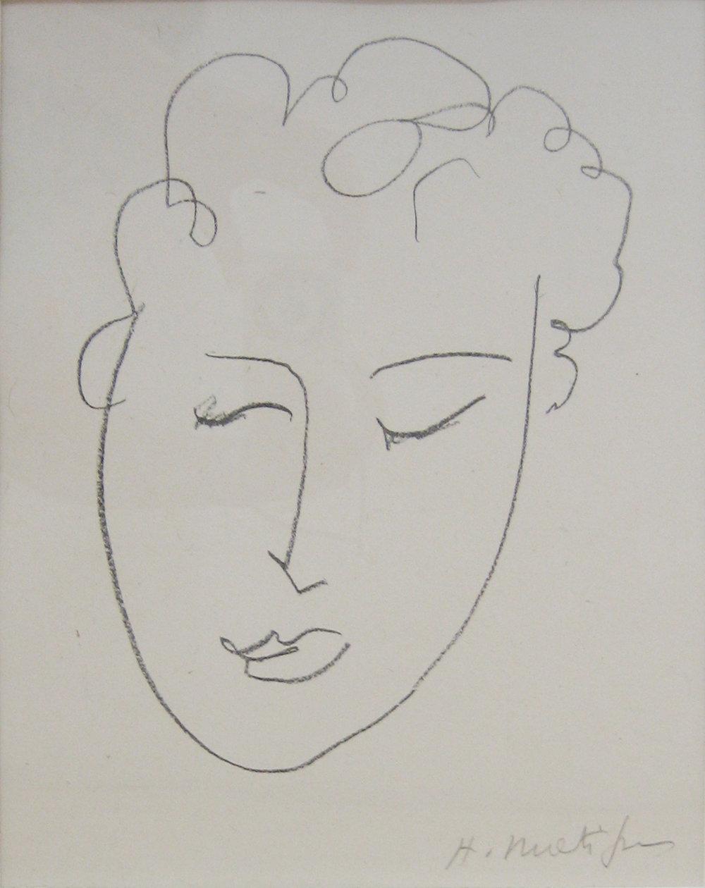 Matisse, Tete de Femme