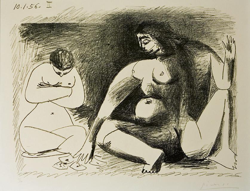 Picasso, Deux Femme...