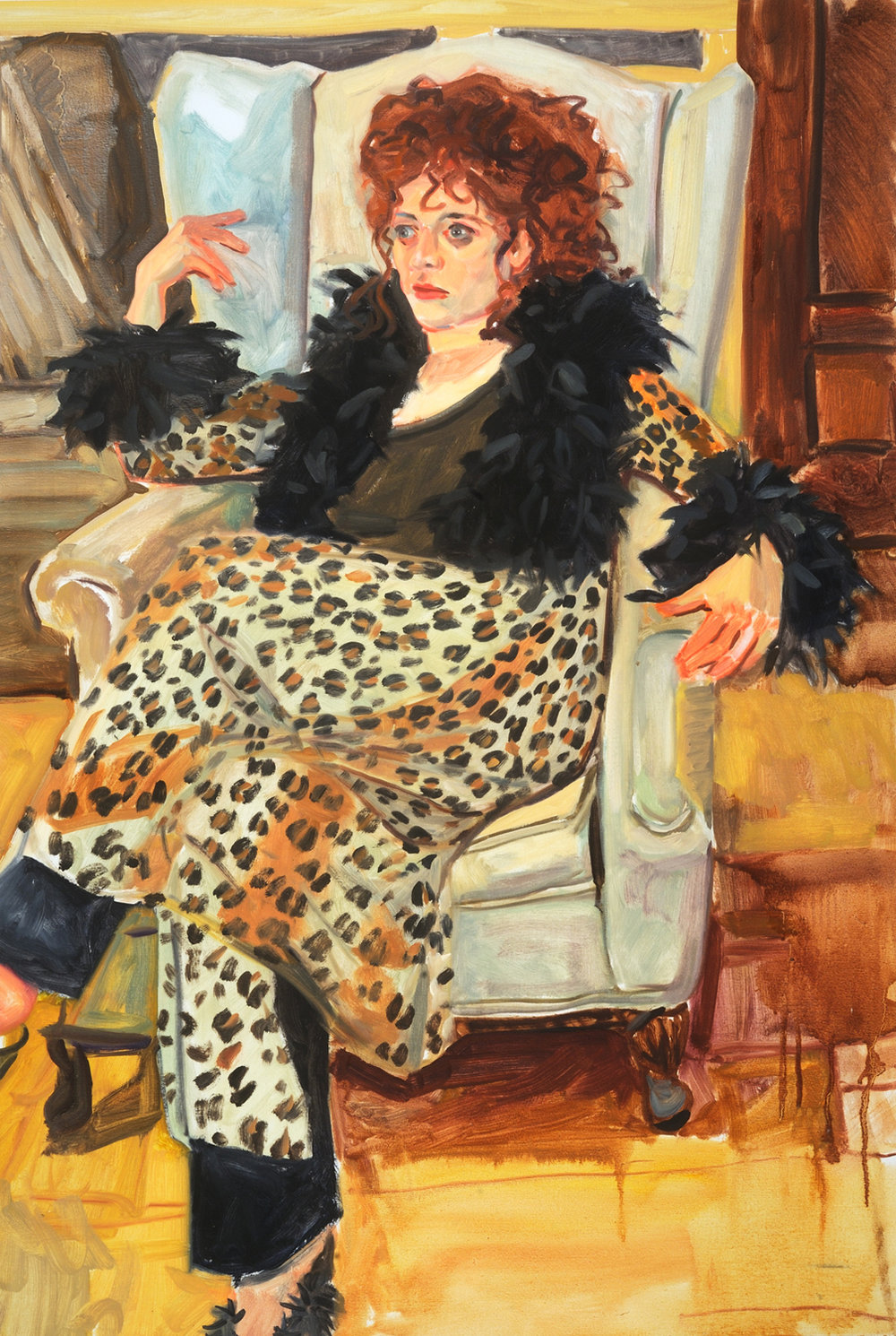 Leopard Skin Dress, 1998
