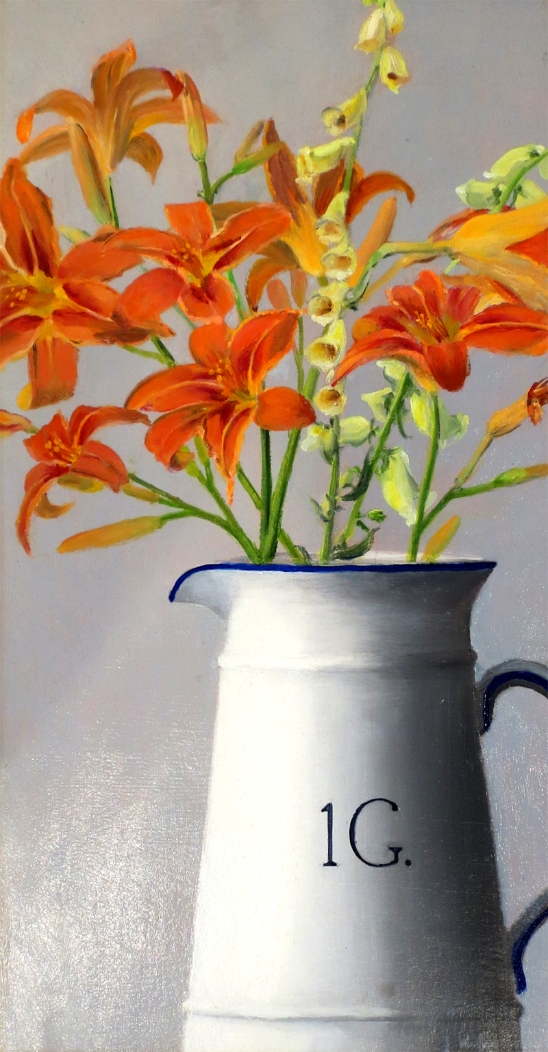 Daylillies in a Jug