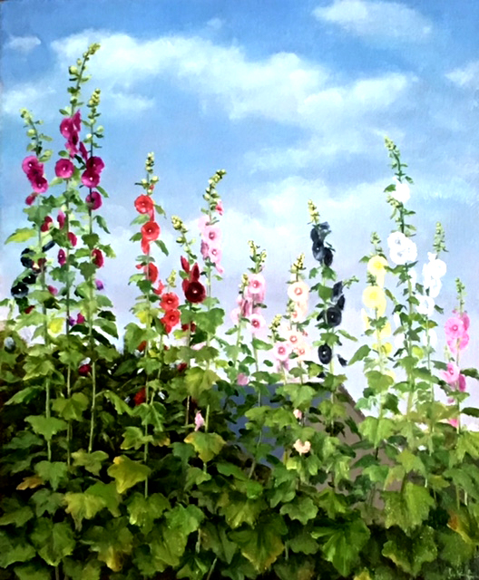 A Hollyhock Farm
