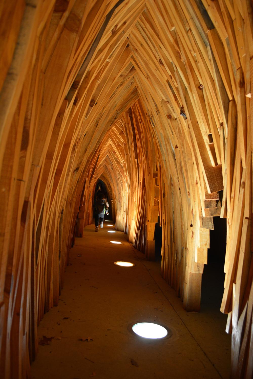 Escape Tunnel (interior view)