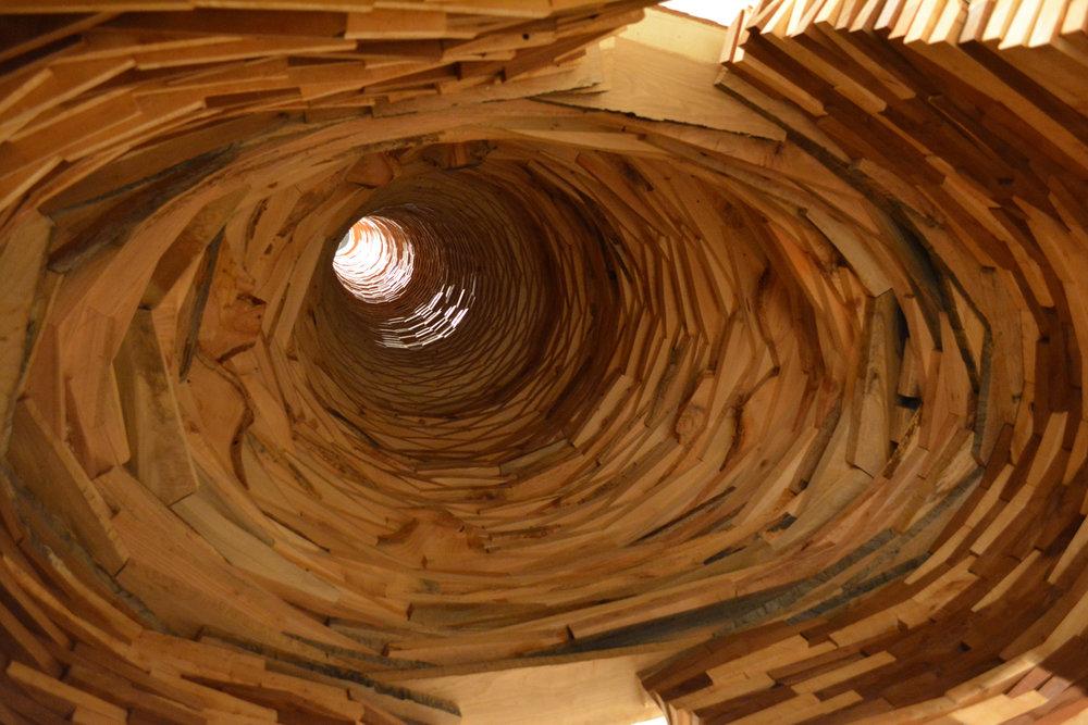 Escape Tower (interior view)