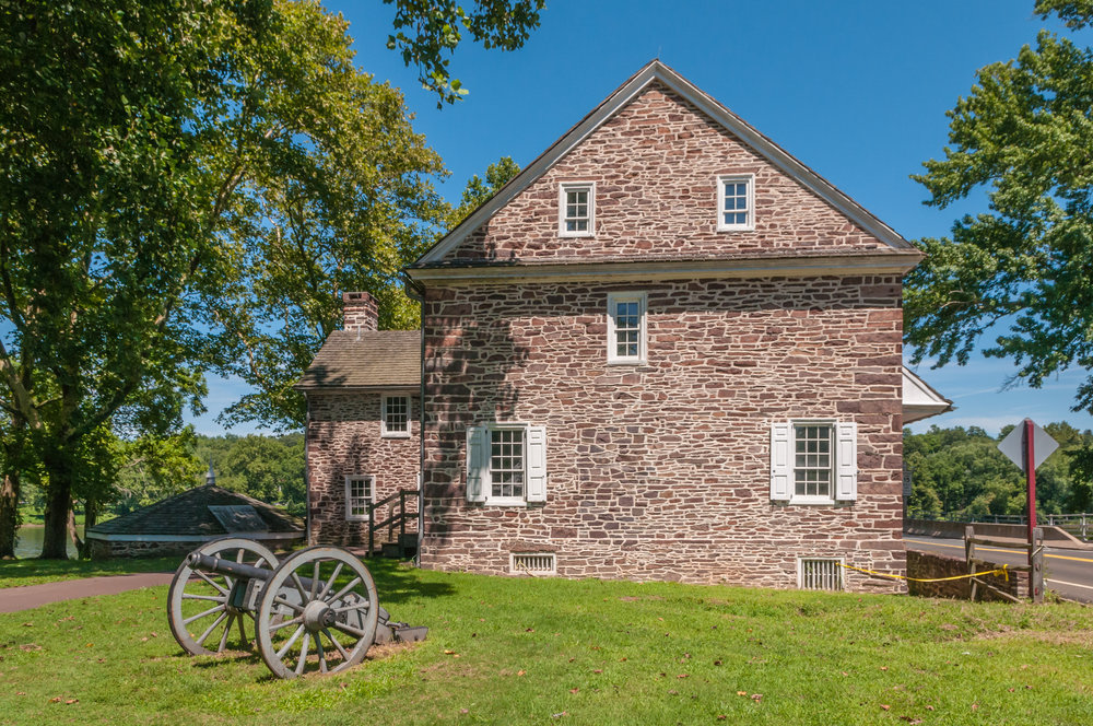 Washington Crossing Historic Park, Site Improvements, Restoration & Rehabilitation