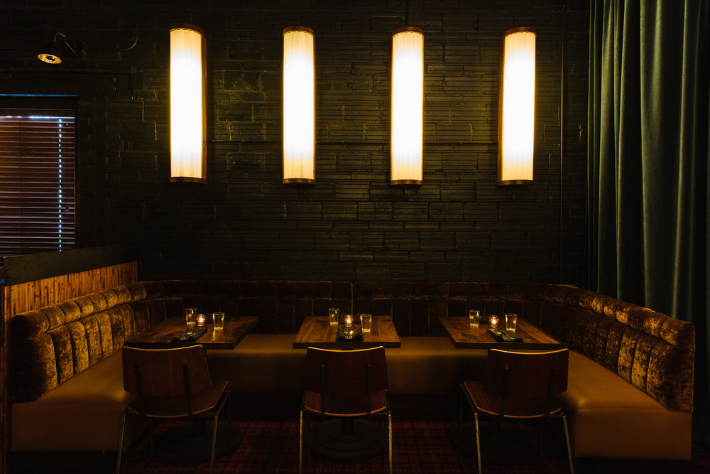 Custom Lighting for Golden Eagle, designed by Elizabeth Ingram. Photo: Andrew Thomas Lee