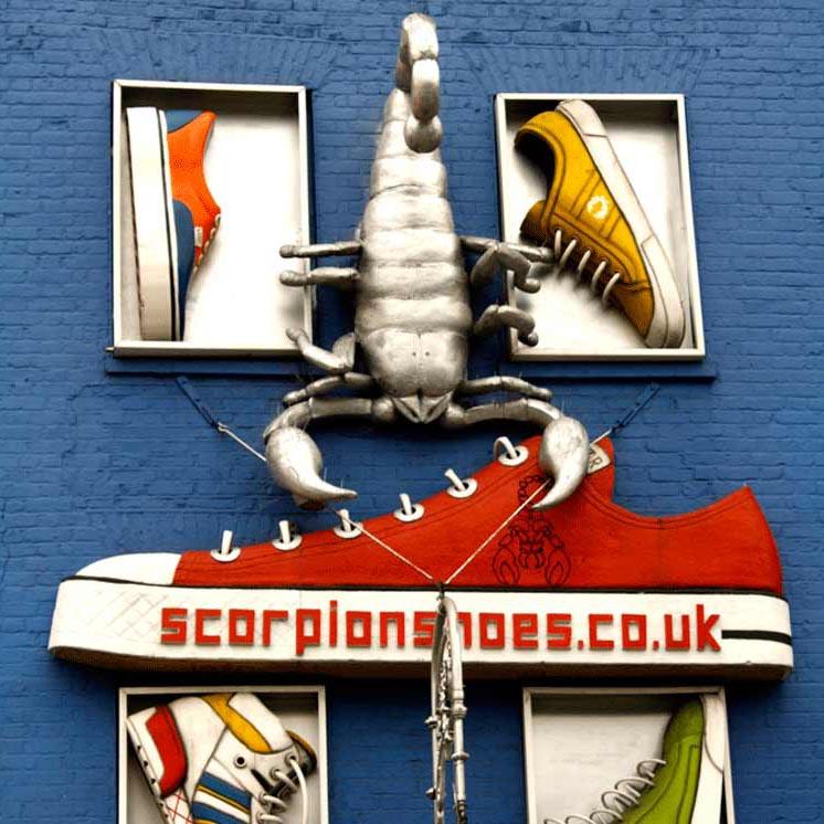 Scorpion Shoes Camden