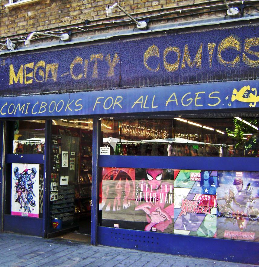 Mega City Comics Camden
